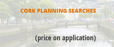 Request Cork planning searches