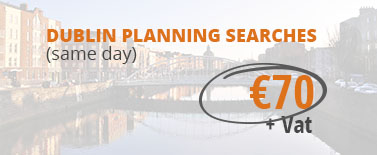 Request Dublin planning searches